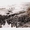 Митинг, посвященный освобождению г. Георгиевска от белых