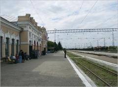 Вокзал города Георгиевск
