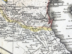 Карта Юга Российской Империи, 1786 г.
