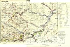 """Карта квадрата C45 """"Пятигорск"""" по данным 1918 года"""
