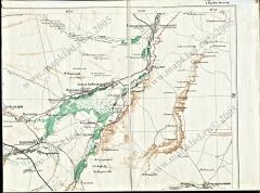 Карта Кавказа 1877 года