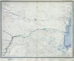 Карта Кавказа (Стрельбицкий л.№96), 1882 г.
