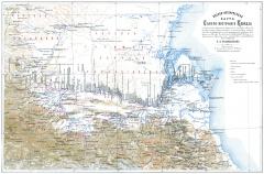 Карта Кавказа 1859 год