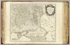 Карта Юга России и Кавказа, 1752 г