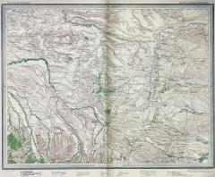 Карта Кавказа (Стрельбицкий л.№78), 1879 г.