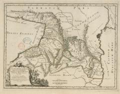 Карта Кавказа, Грузии и Албании, 1667 г.