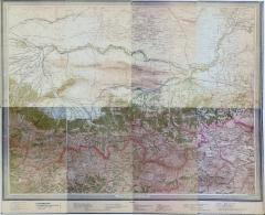 Карта Кавказа (Стрельбицкий л.№97), 1895 г.