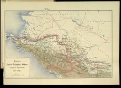 Карта Сев.-Зап. Кавказа в 1816-1826 гг.