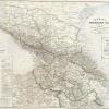 Карта Кавказского края 1868 г.