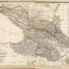 Карта Кавказа Российского генерального штаба 1855 г.