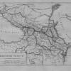 Карта Кавказских областей, 1824 г.