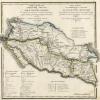 Карта Кавказской области и земель горских народов, 1825 г.