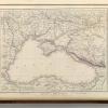 Карта России у Черного Моря 1847 г.