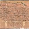 Карта Ставропольской епархии 1890 г.