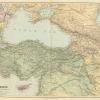 Карта Малой Азии и Кавказа (до 1864 г.)