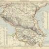 Карта Кавказа, 1883 г.