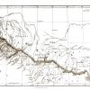 Карта Кавказа 1840 г.