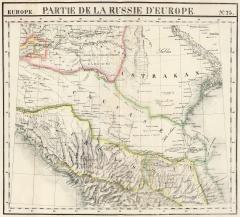 Карта Кавказа (после 1830 г.)