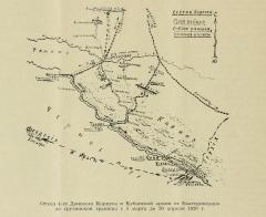 Отход 4-го Донского корпуса и Кубанской армии 1920 г.