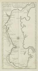 Карта Каспийского моря, 1710 г.