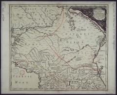 Карта Юга России 1745 г.