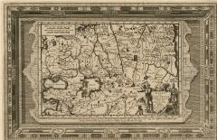 Маршрут путешествия Ж.Карпини в 1246-1247 гг.(1707)