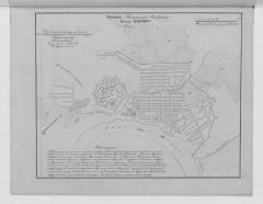 План города Кизляра Кавказской области 1822 г.
