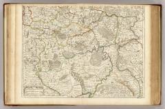 Карта Южной части Московии, 1706 г.