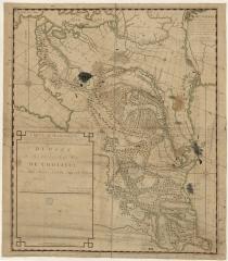 Карта Кавказа 1755 г.