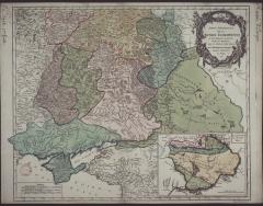 Карта всех провинций Юга России, 1752 г.