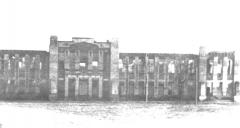 СШ № 1 после освобождения Георгиевска в 1943 году