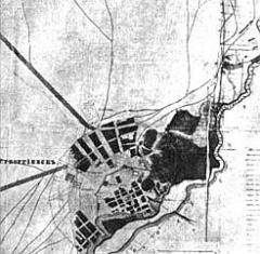План Георгиевска 1842 г.