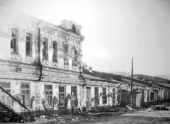 Техникум механизации сельского хозяйства после освобождения Георгиевска в 1943 году