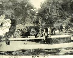 Фонтан в парке культуры
