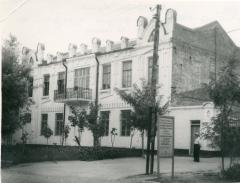 Георгиевский винзавод, фасад корпуса № 2 по ул. Пушкина, г. Георгиевск