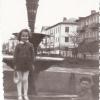 """Бульвар с фонтаном (у будущего """"Вечного огня"""") в 1965 году"""