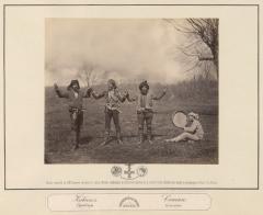 Кавказ. Гурийцы. Танец (Рауль И.  1870)