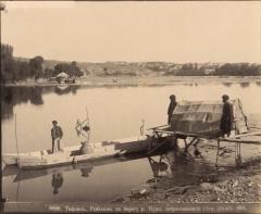 Тифлис. Рыболов на берегу р.Куры (Ермаков Д.И. 1890)