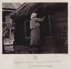 Казачки носят кизяки (Болдырев И.В. 1875-1876)