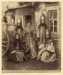 Кубанская обл.  Абазинки (Ермаков Д.И. 1890)