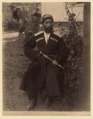 Кубанская обл. Абазинец (Ермаков Д.И. 1890)