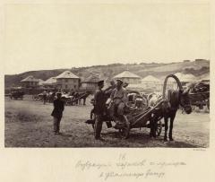 Возвращение казаков с ярмарки (Болдырев И.В. 1875)