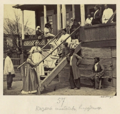 Казачье семейство в праздник (Болдырев И.В. 1875-1876)