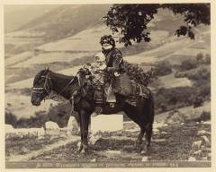 Шушинская армянка на лошади (Ермаков Д.И. 1890)