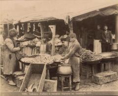 Тифлис. Рыбная и овощ. торговля (Ермаков Д.И. 1890)