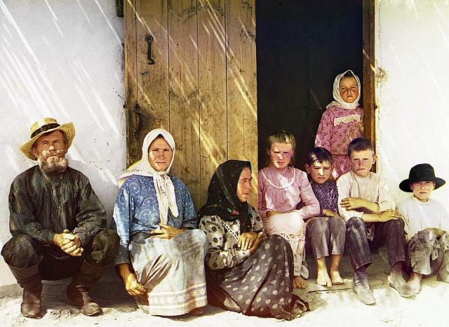 Мугань. Семья поселенца. Пос. Графовка ([между 1905 и 1915]