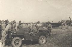 II Прибалтийский фронт, Латвия, лето 1944 года. Политинформация.