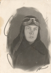 Курсант Енакиевского аэроклуба, 1939 год.