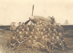 3-я эскадрилия 118-го гвардейского ШАП, 9 мая 1945 года, Литва, аэродром Вегеряй-2