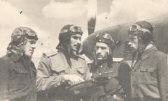 Летчики 1-й эскадрилии, 1944 год
